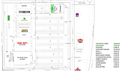 Plaza Site Plan
